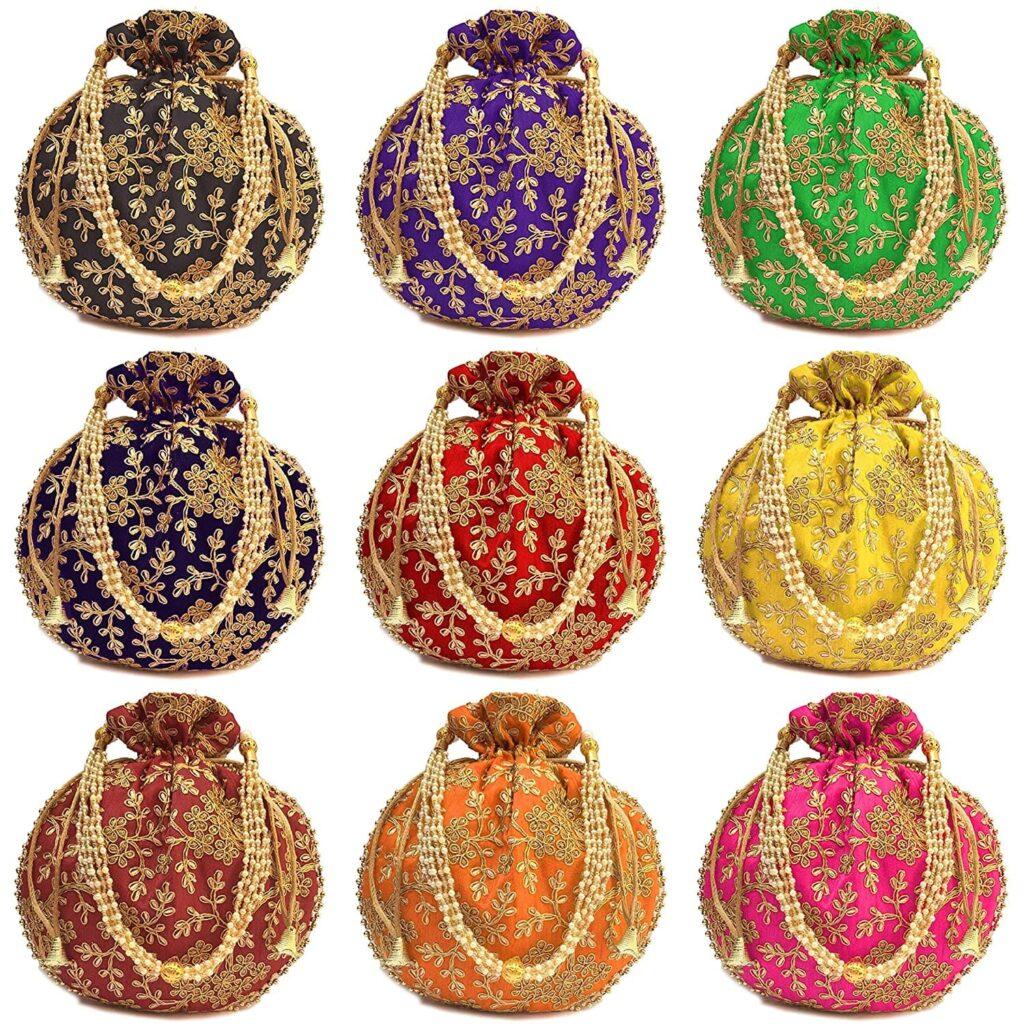 Different Rajasthani Potli Designs