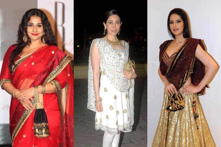 Traditional Potli bags used by Indian Celebrities.